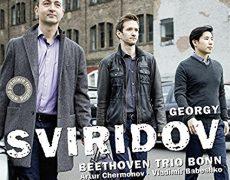 Beethoven Trio Bonn / CD mit Werken von G. Sviridov