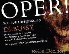 Göttinger Symphonie Orchester / Christoph-M. Müller: Debussy Operas