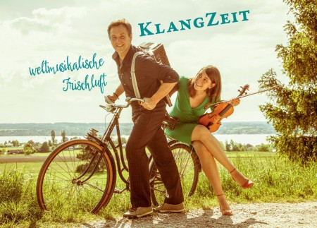 KlangZeit Postkarte